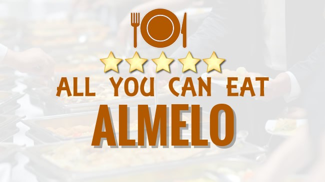 All you can Eat restaurant Almelo