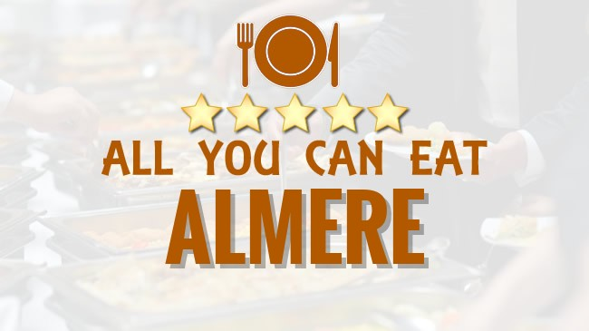 All you can Eat restaurant Almere