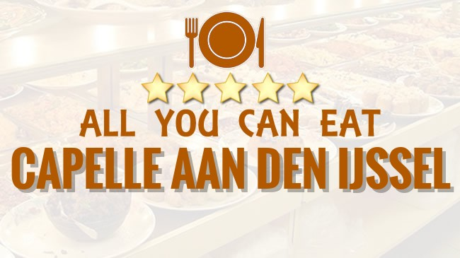 All you can Eat restaurant Capelle aan den IJssel