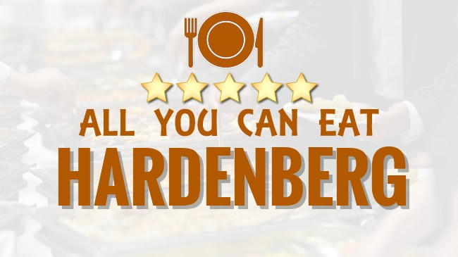 All you can Eat restaurant Hardenberg