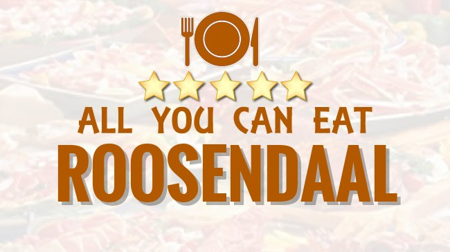 All you can Eat restaurant Roosendaal